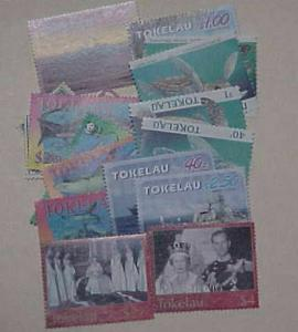 TUVALU 17 DIFF.  STAMPS $21.45 FACE VALUE MINT  MOSTLY NEVER HINGED