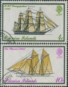 Pitcairn Islands 1975 SG157-158 Mailboats FU