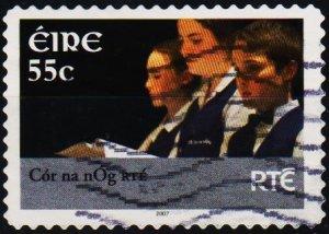 Ireland. 2007 55c Fine Used