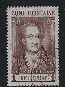 Germany - under French occupation - Scott # 4N11, used