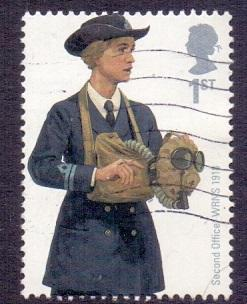 Great Britain 2009 used fire and rescue service Officer WRNS    #