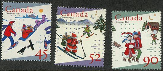 Canada #1627-1629 Mint VF-NH Complete Set Face Alone $1.87