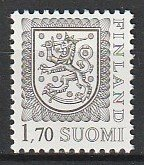 1987 Finland - Sc 712 - MNH VF - 1 single - Coat of Arms