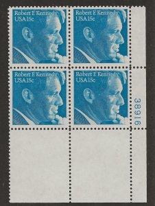Sc 1770 ROBERT F. KENNEDY Plt No 38916 President Kennedy's brother