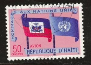 Haiti  Scott C133 Used airmail