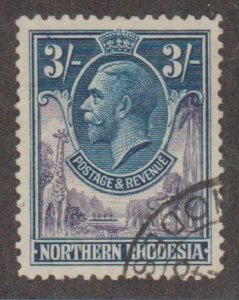 Northern Rhodesia Scott #13 Stamp - Used Single