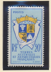 French Southern and Antarctic Territories Stamp Scott #15, Mint Hinged - Free...