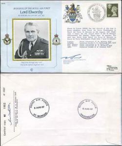 CDM15a RAF COMMANDER Lord Elworthy Gp Capt Bonner and Flt Lt Webster (C)