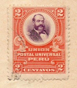 Peru 1883-84 Early Issue Fine Used 2c. NW-11816