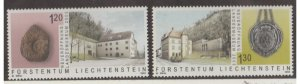 Liechtenstein Scott #1266-1267 Stamps - Mint NH Set