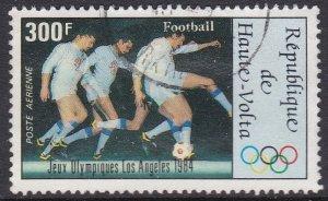 Burkina Faso (Upper Volta) #C290 F-VF postally used 1984 Olympics