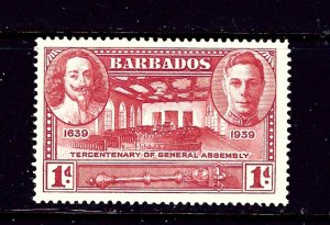 Barbados 203 MNH 1937 issue