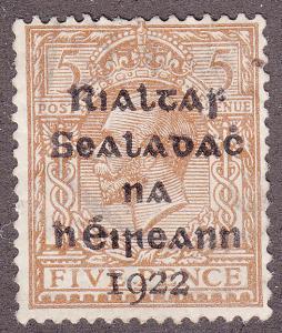 Ireland 6 KGV O/P 1922
