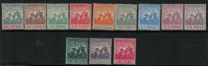 Barbados 1904 SC 90-101 Mint SCV $385.00 Set