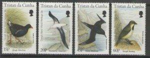 TRISTAN DA CUNHA SG602/5 1996 GOUGH ISLAND AS WORLD HERITAGE MNH