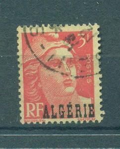 Algeria sc# 203 (1) used cat val $.25