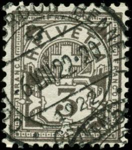 Switzerland Scott #114 Used