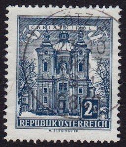 Austria - 1958 - Scott #625 - used - GÖTZIS pmk