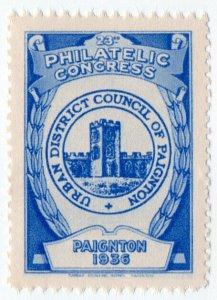 (I.B) Cinderella : 23rd Philatelic Congress (Paignton 1936) Council Seal