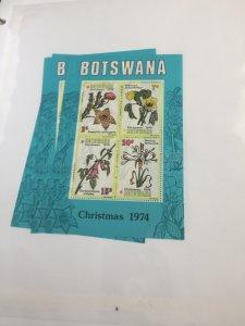 Souvenir Sheet Botswana #131a