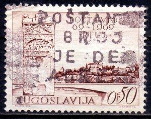 Yugoslavia. 1969. 1328. Anniversary of the city of Ptuj. USED.