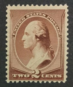 MOMEN: US #210 MINT OG **NH** POST OFFICE FRESH #31118