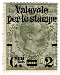 (I.B) Italy Postal : Parcel Post 2c on 10c OP