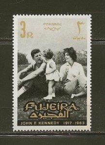 Fujeira 36 John F Kennedy 1965 MNH