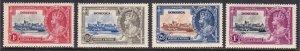 Dominica - Scott #90-93 - MH - Gum toning - SCV $11.95