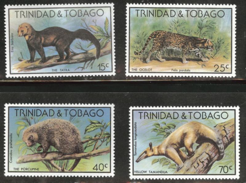 Trinidad & Tobago Scott 292-295 MNH** set