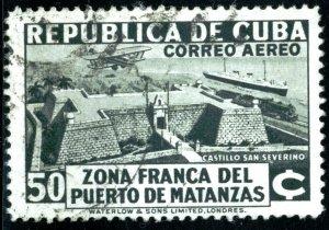 CUBA #C21, USED AIRMAIL - 1976 - CUBA337NS10