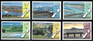 New Zealand # 1446 - 51 Mint Never Hinged