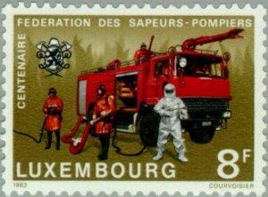 Luxembourg 1983 Modern Fire Engine MNH**