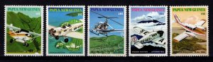 Papua New Guinea 1981 Mission Aviation Set [Mint]