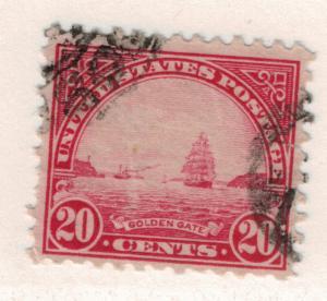 United States (U.S.) Stamp Scott #567, Used - Free U.S. Shipping, Free Worldw...