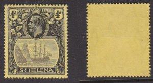St. Helena #95 MNH tall ship CV $15