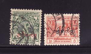 Burma O57, O59 U Dancer, Bell