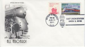 2011 East Union Railroad Pictorial  - Union IL