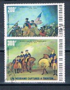 Burkina Faso C209-10 Used American Bicentennial 2 1976 (HV0366)