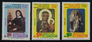 Ecuador 1072-5 MNH Beatification of Mercedes de Jesus Molina