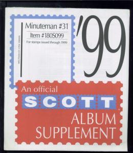 1999 Minuteman #31 United States Stamp Album Supplement Item #180S099