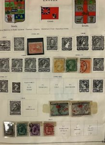 CANADA COLLECTION 1850's–2015, 3 vols, mostly complete NH from 1952-2015,