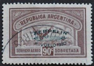 DYNAMITE Stamps: Argentina Scott #C27 – USED