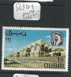 DUBAI   (PP1505B)  AIRPORT  SG 372-3    MNH