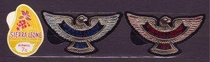 J22704 Jlstamps 1969 sierra leone set mnh #c97-9 birds