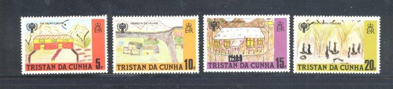 Tristan da Cunha MNH 264-7 International Year Of The Child 1979