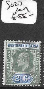 NORTHERN NIGERIA (P1309B) KE 2/6  SG 27  MOG