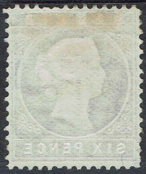 GAMBIA 1880 QV CAMEO 6D WMK CROWN CC SIDEWAYS