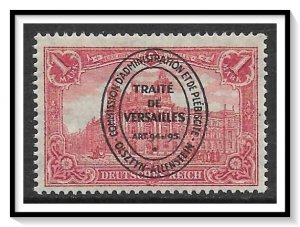 Allenstein #24 General Post Office Overprinted MH