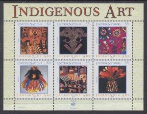UN New York 836 Souvenir Sheet MNH VF